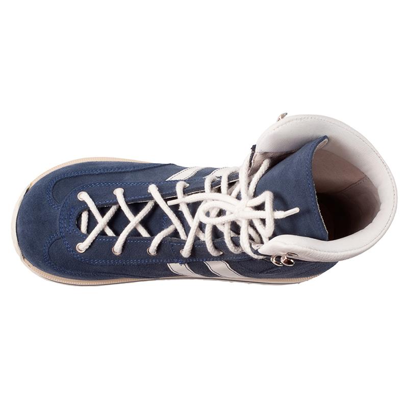 a65762579 ... Memo Sprint 1CH - Ортопедические ботинки для детей с ДЦП Синий нубук ...