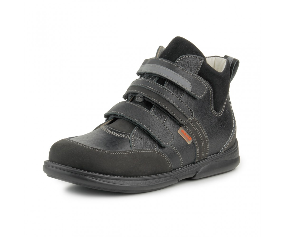 Купити Memo Polo 3LY Чорні - Ортопедичні кросівки для дітей. Світ ... f17cc4ee1828e